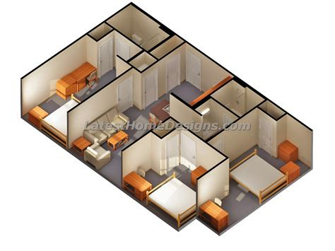 home design 3d save 3d designs of 3 bedroom 2 bath house plans 3d numbers clip