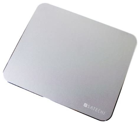 Modern Desk Pad Satechi Aluminum Mouse Pad Modern Desk Accessories By Satechi