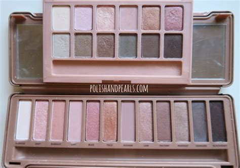 Maybelline The Blushed Palette Dupe Decay 3 dupes and maybelline on