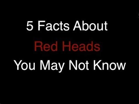 Cool You May Now The by 5 Facts You May Not About Heads