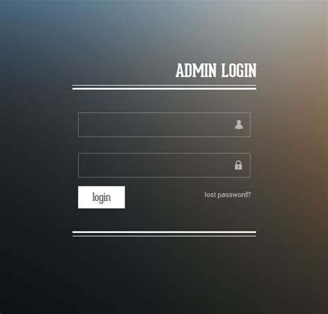 templates for website with login page 20 useful login page template free psd files the design