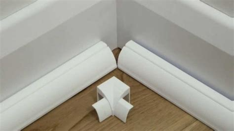 Baseboard Height d line quadrant trunking 22x22 floor cable cover wire