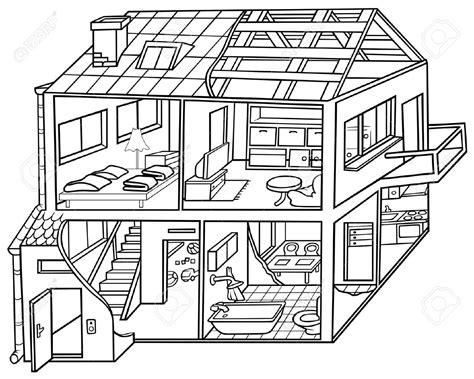 house drawing clip art  getdrawings