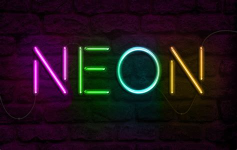 neon lettering tutorial photoshop create neon effect photoshop tutorials psddude
