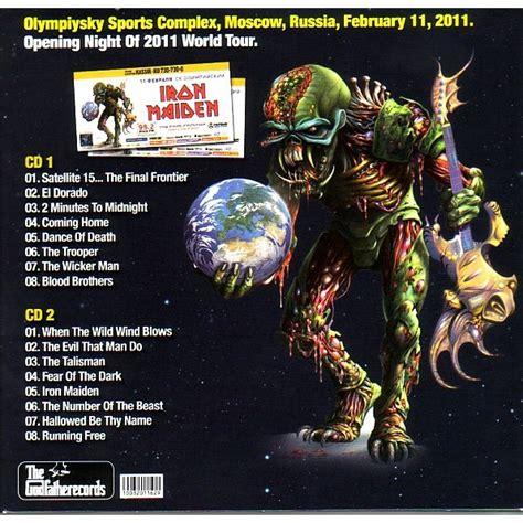 Cd Original Iron Maiden The Frontier welcome to the frontier by iron maiden cd x 2 with