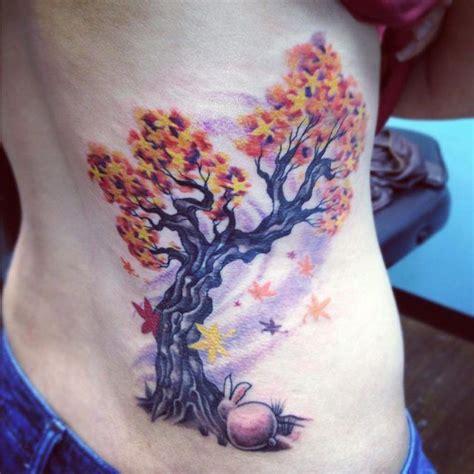 blue rose tattoo huntsville al japanese maple tree with bunny caroline westmeyer at blue