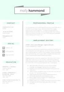 cv layout templates 13 slick and highly professional cv templates guru