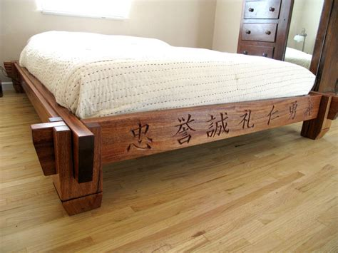 Asian Platform Bed Asian Inspired Platform Bed By Silverhalo Lumberjocks Woodworking Community