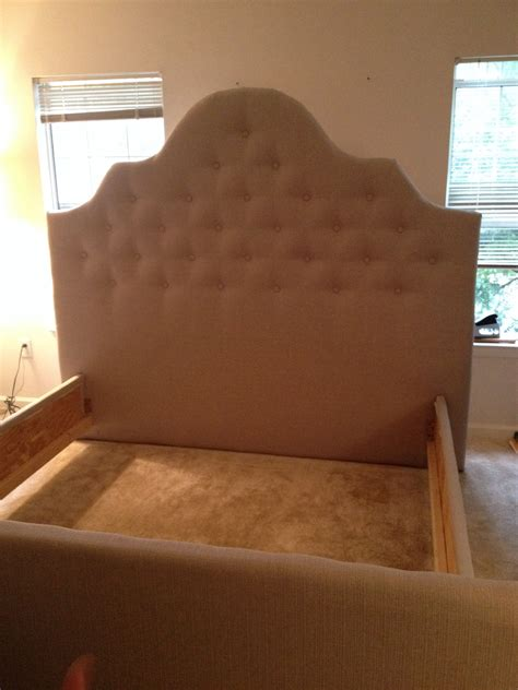 diy headboard pinterest the diy headboard footboard and side rails my hubs and i
