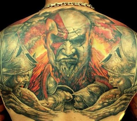 kratos tattoo 17 best images about god of war on