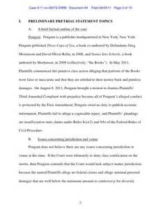 penguin s preliminary pretrial statement doc 84