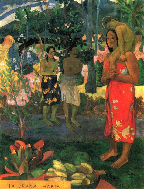 paul gauguin post impressionists p serenbetz