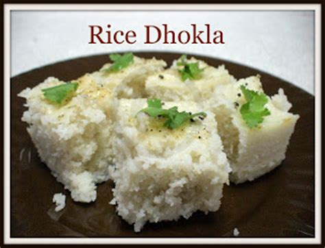 Rice Mba Ha by Recipe Center Rice Dhokla