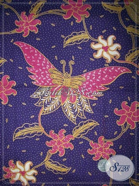 Batik Kupu kain batik halus dari batik motif kupu dan cocok