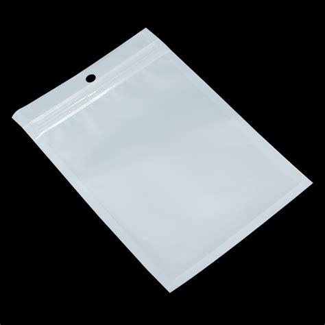 aliexpress ziplock bags wholesale 10 5cm 15cm white clear self seal zipper