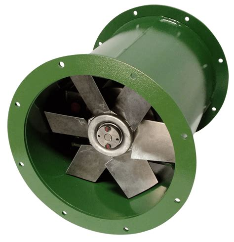 direct drive tubeaxial fans dda tube axial fan 18 inch 4590 cfm direct drive 3 phase