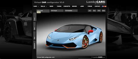 Lamborghini Configure Unofficial Lamborghini Huracan Configurator Is Nifty