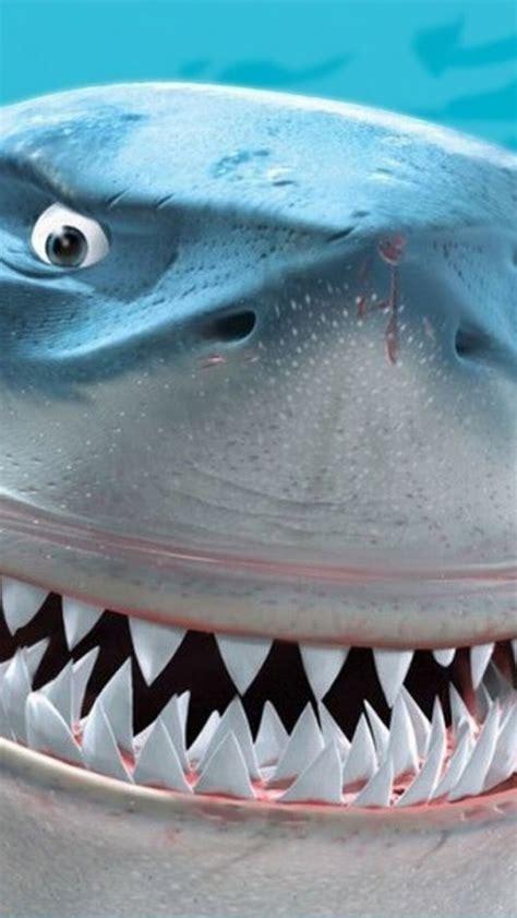 finding nemo bruce shark iphone  wallpaper hd