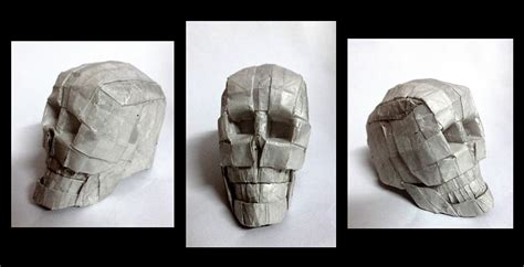 Origami Skull 3d - 21 more spooky origami models for