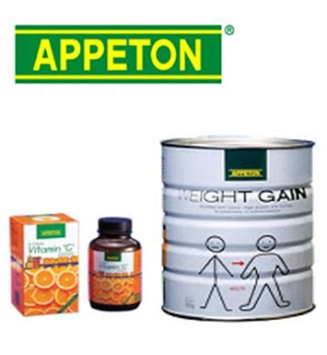 Appeton Eight Gain appeton weight again