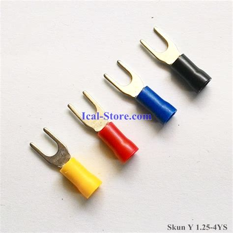 Skun Y 1 25 3 Skun Y 1 5mm Skun Y skun y vf 1 25 4ys 1 25 4 cable lug ical store ical