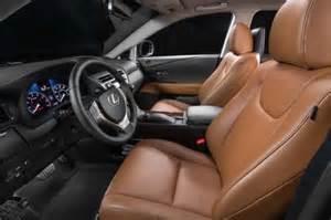 Lexus Rx 350 Saddle Interior 2015 Lexus Rx350 Miscellaneous Pictures Motor Trend