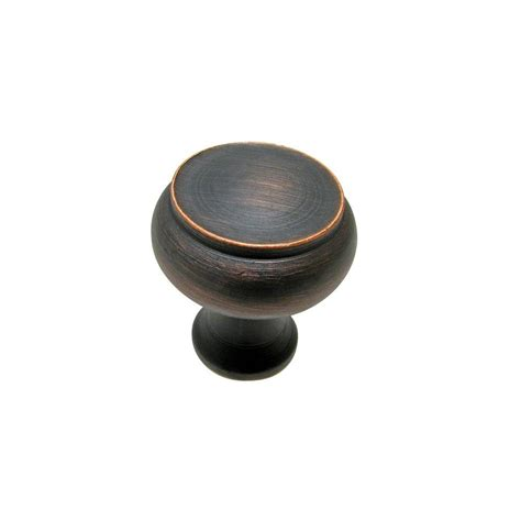 Richelieu Hardware 1 1 8 In Brushed Oil Rubbed Bronze
