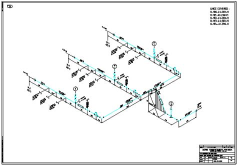 Isometric Plumbing Drawing by Software