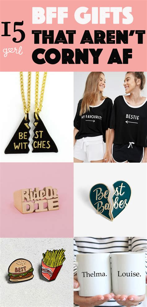 corny christmas gift ideas 15 awesome bff gifts that aren t corny af closest friends holidays and gift