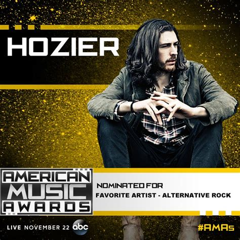 hozier us store hozier nominated for american music awards