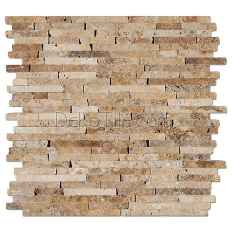 random pattern mosaic tile 3 8 random brick pattern honed scabos travertine mosaic tile