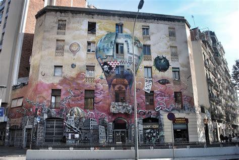 House Wall Murals barcelona graffiti and street art barcelona navigator