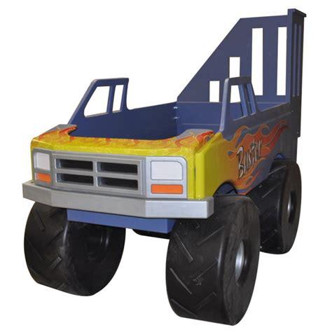 monster truck toddler bed monster truck theme bed