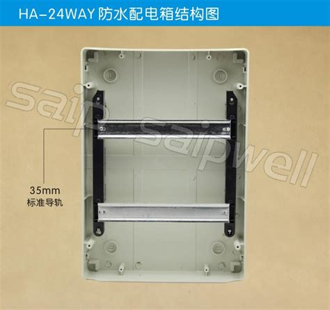 Box Panel Standar saipwell 24 ways usa standard distribution boxes electrical ce standard ip65 waterproof