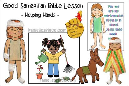 good samaritan helping hands book good samaritan story for preschoolers free clipart