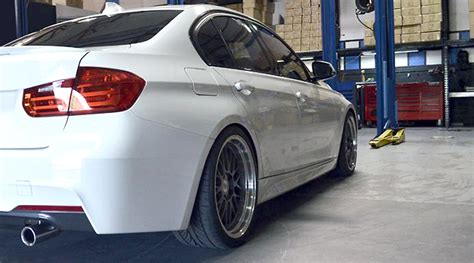 Bmw F30 Tieferlegen by Bmw F30 Gewindefahrwerk Black Evolution Supersport