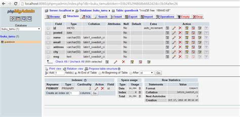 buku membuat web dengan php membuat buku tamu dengan php dan mysql dengan mudah