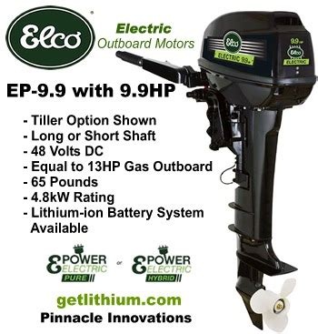 electric boat engine prices elco motor yachts complete inboard or outboard electric
