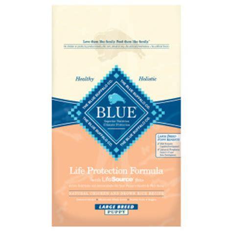 blue protection formula puppy blue buffalo protection formula large breed puppy chicken brown rice