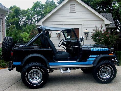 turquoise jeep cj 1984 jeep cj7 renegade jeep cj7