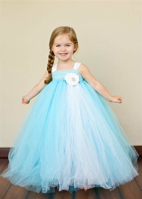 Dress Tutu Blue White blue flower tutu dress blue and