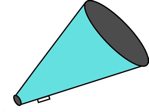 megaphone clipart megaphone teal clip at clker vector clip