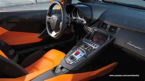 lamborghini aventador lp700 4 roadster interior interiors 2014 lamborghini aventador lp700 4 roadster details look youtube