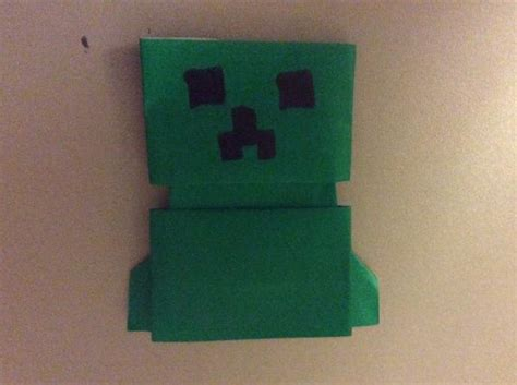 How To Make A Origami Creeper - origami creeper origami yoda