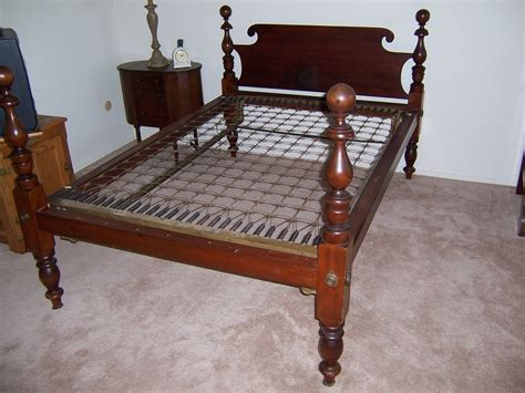 antique rope bed antique bed my antique furniture collection