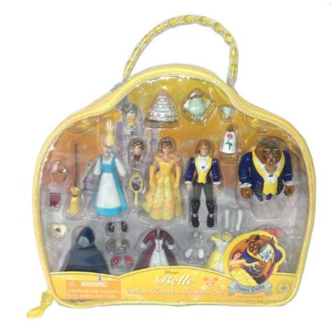 Your WDW Store   Disney Figurine Set   Deluxe Belle Fashion Play Set
