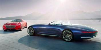 vision mercedes maybach 6 cabriolet is the future of