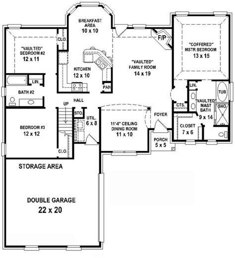 2 Bedroom 2 Bath Apartment Floor Plans Bedroom At