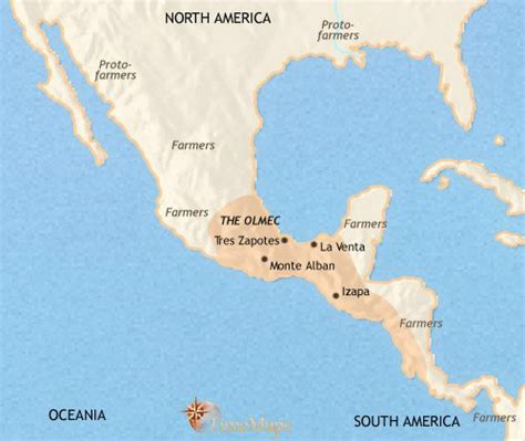 map of mexico and america mexico and central america 500 bce