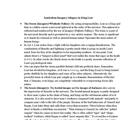 themes in king lear act 5 scene 3 analysis king lear act 1